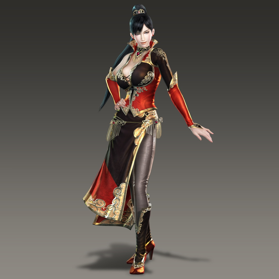Pretty Outfits...in Video Games - Hello from Dynasty Warriors 6 Sun Shang Xiang